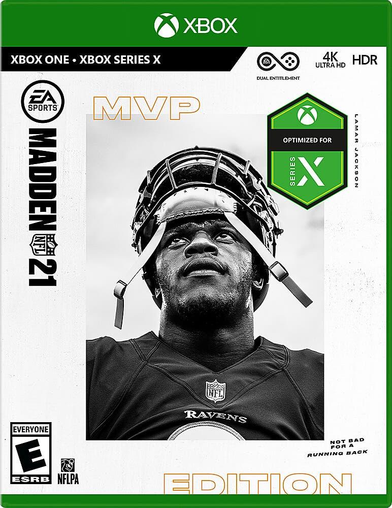portada de Madden NFL 21 para Xbox Series X