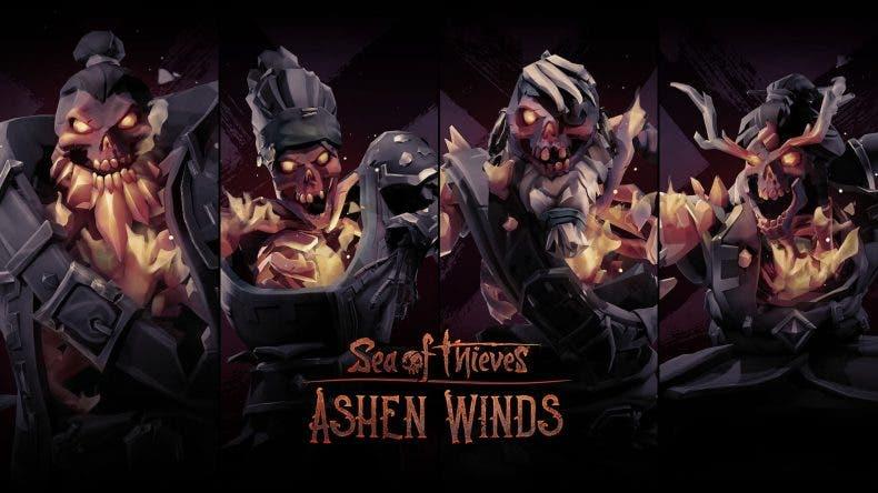 Ya disponible Ashen Winds en Sea of Thieves: Estas son sus novedades