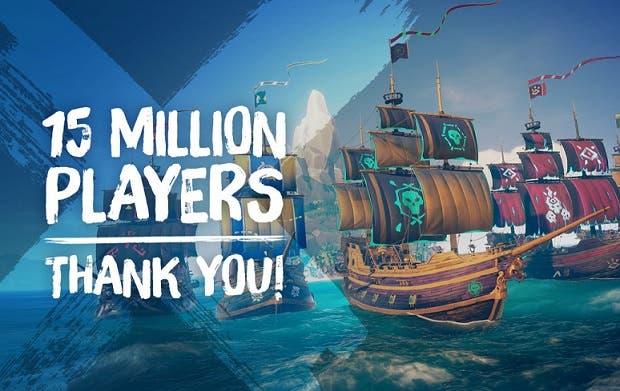 Sea of Thieves sobrepasa los espectaculares 15 millones de jugadores 1