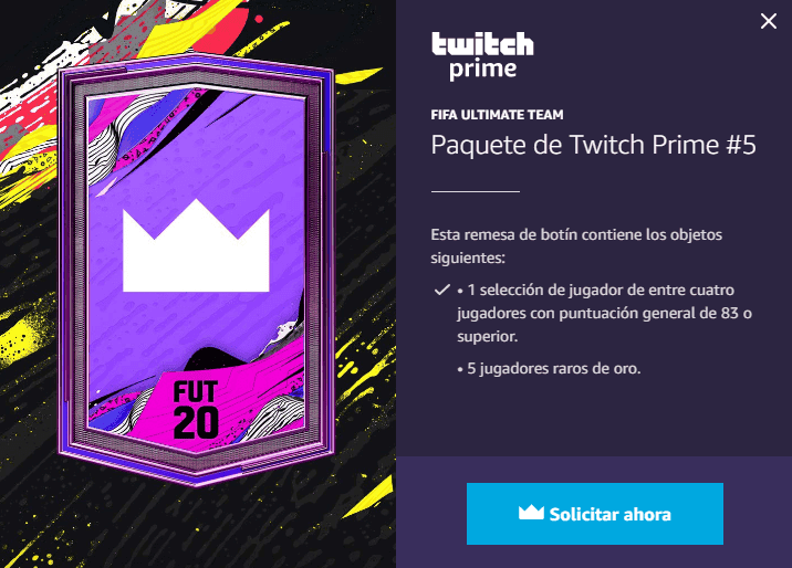 FUT Packs gratis para FIFA 20 Ultimate Team