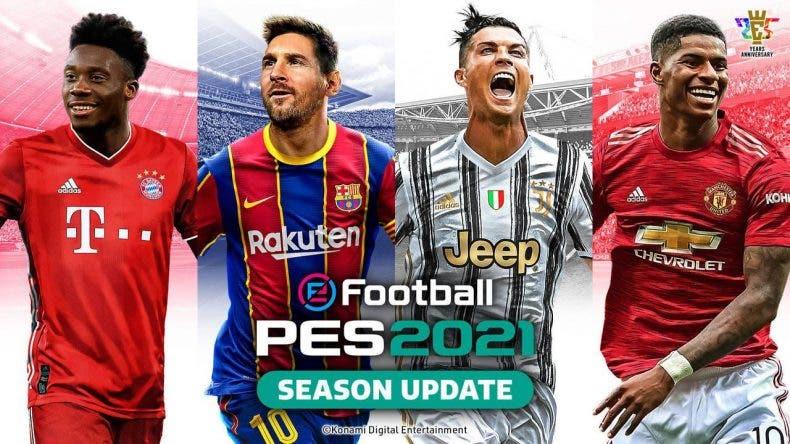 disponible el nuevo Data Pack gratuito de eFootball PES 2021
