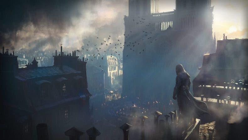 Hyper Scape cuenta con un claro homenaje a Assassin's Creed Unity