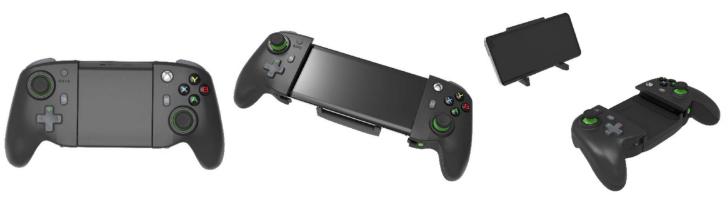Acessórios para jogos móveis projetados pelo Xbox