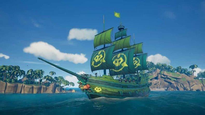 Sea of Thieves da inicio un nuevo evento e incluye un homenaje a Battletoads 1
