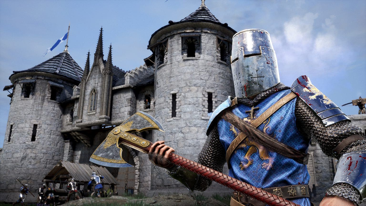 Chivalry II presents a new map through a trailer 2