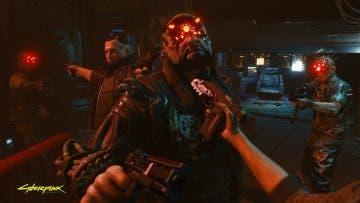combate cuerpo a cuerpo de Cyberpunk 2077
