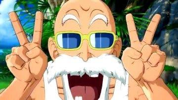 El maestro Roshi es confirmado para llegar a Dragon Ball FighterZ 8
