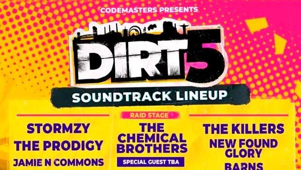 DIRT 5 descubre una extensa y variada banda sonora 2