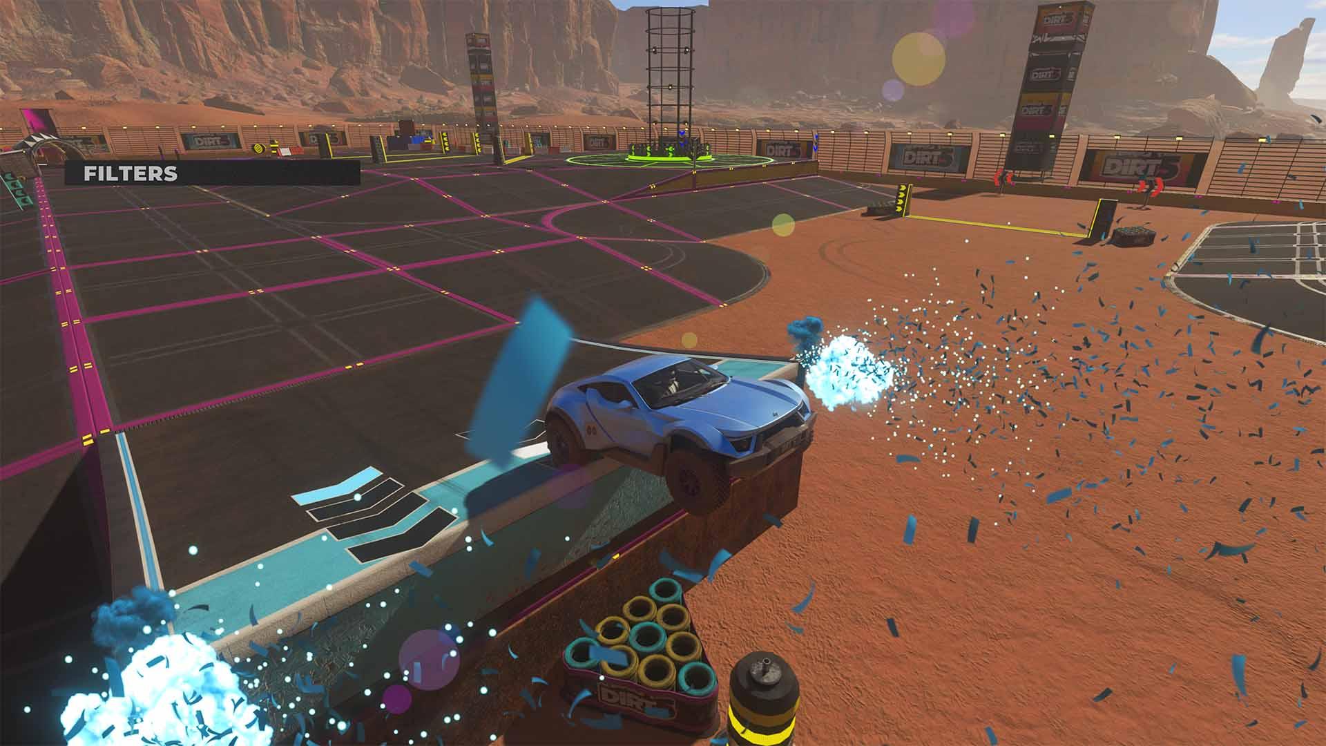 Nos hemos puesto creativos gracias al nuevo modo Playgrounds de DIRT 5 2