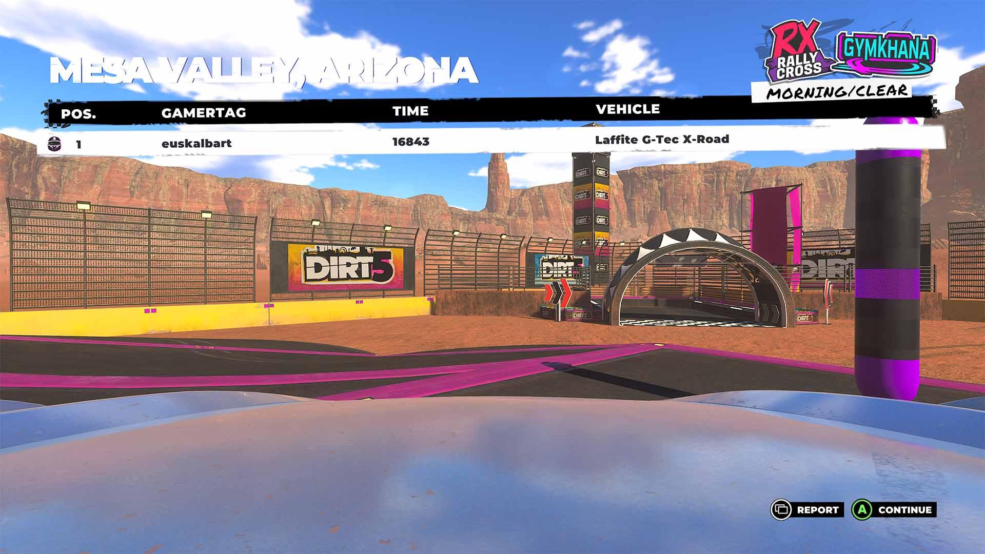 Nos hemos puesto creativos gracias al nuevo modo Playgrounds de DIRT 5 3