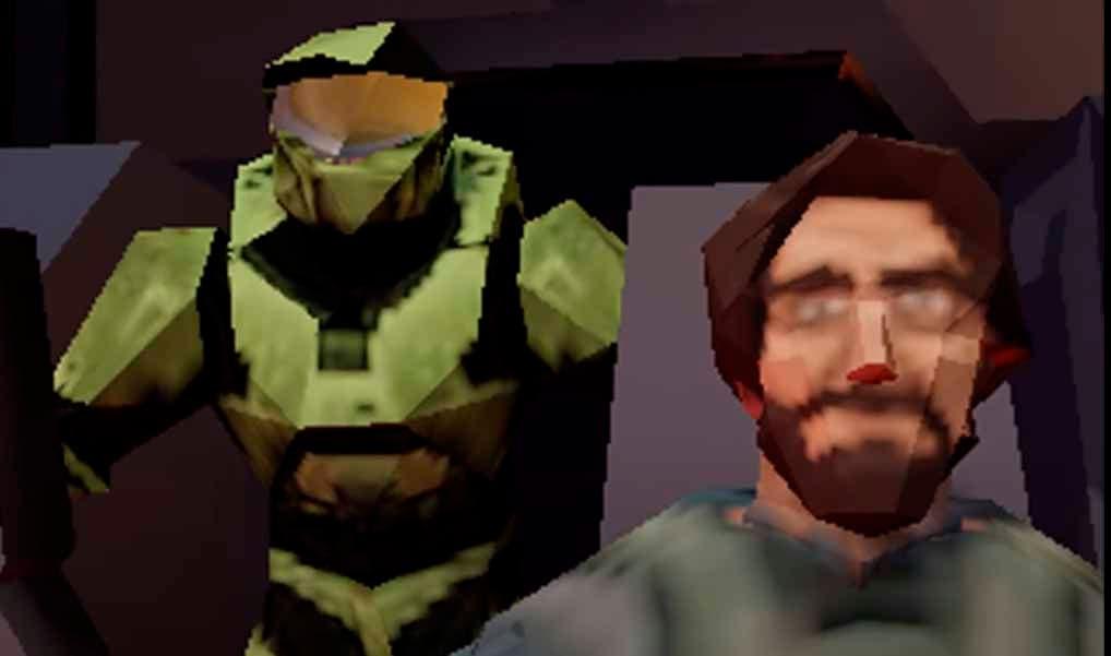Recrean el gameplay de Halo Infinite como si fuese ejecutado por una Nintendo 64 5