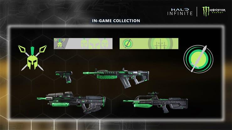 La promoción de Monster y Halo Infinite seguirá adelante, pese al retraso del juego 2
