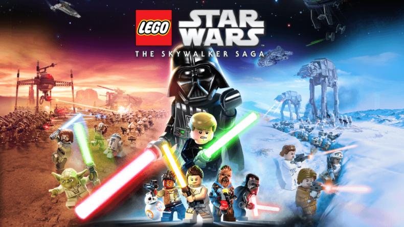 Así de genial es la carátula de LEGO STAR WARS The Skywalker Saga Deluxe Edition 1