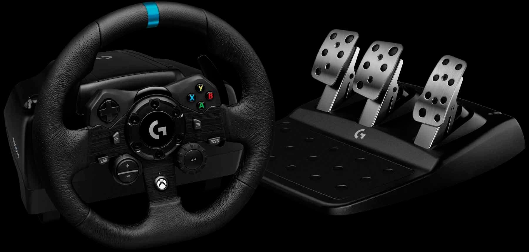 Logitech apresenta seu novo volante G923 TRUEFORCE para Xbox One 2