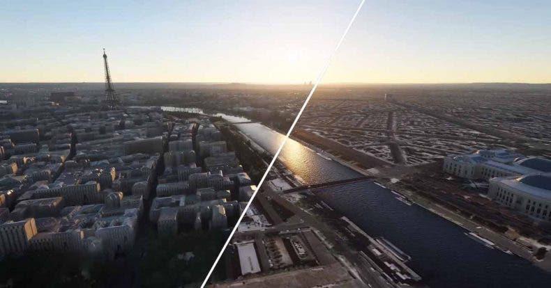 Microsoft Flight Simulator expone la potencia la IA y la nube en un nuevo vídeo 1