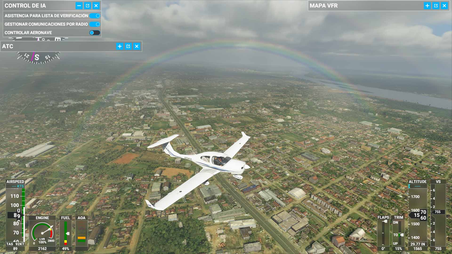 Microsoft Flight Simulator se prepara para llegar a la Realidad Virtual 2
