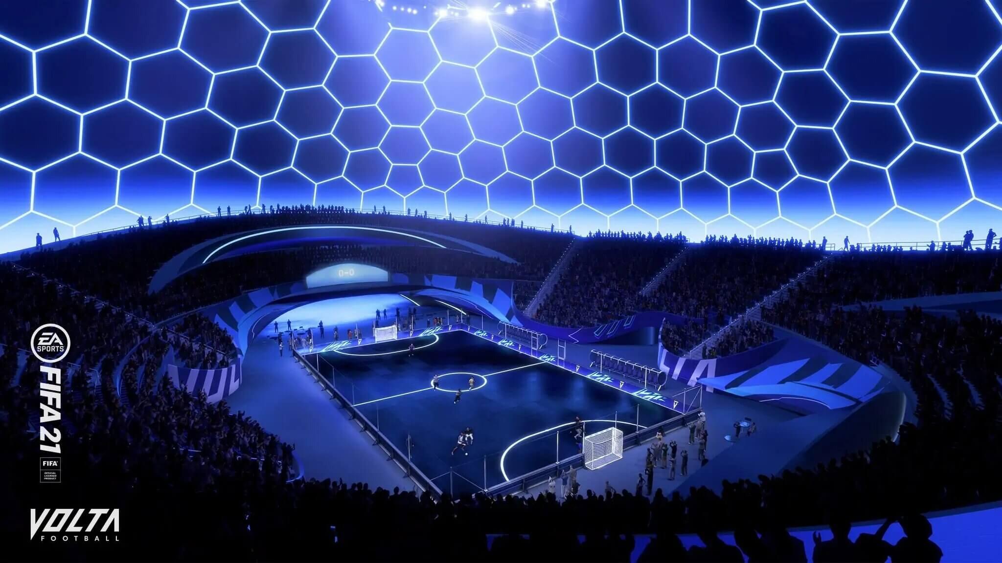 Así será VOLTA FOOTBALL en FIFA 21