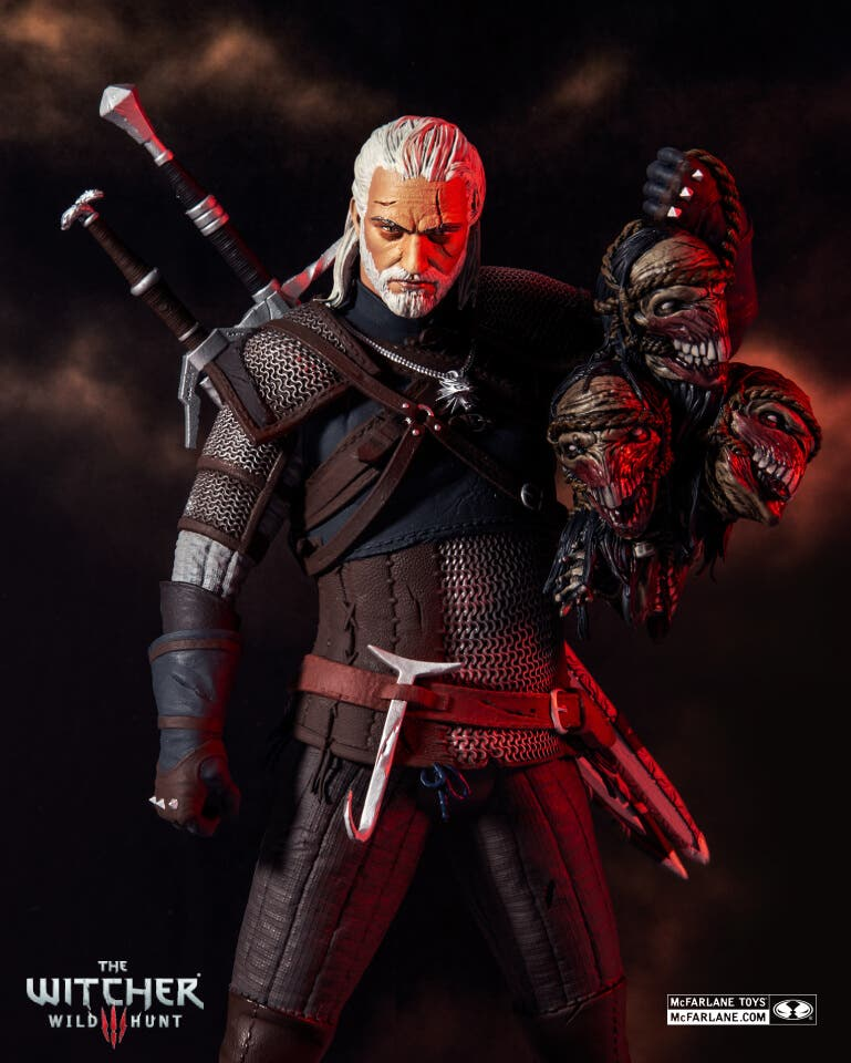 figura de The Witcher 3