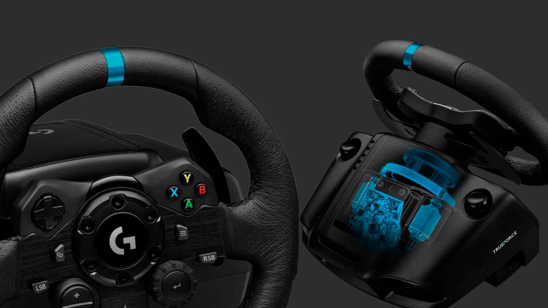 Análisis del Logitech G923 para Xbox One y PC 5
