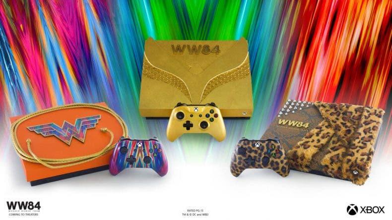 Xbox One X inspiradas en Wonder Woman 1984