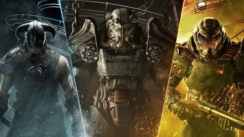 ofertas en juegos de Bethesda para Xbox One por la QuakeCon 2020