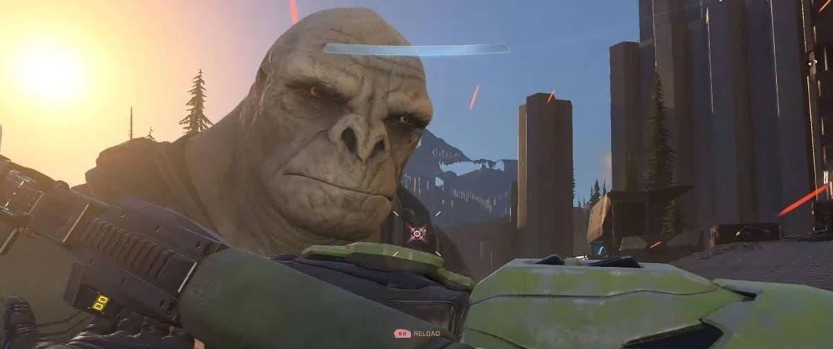 Se filtra el nuevo aspecto de los Brutes en Halo Infinite