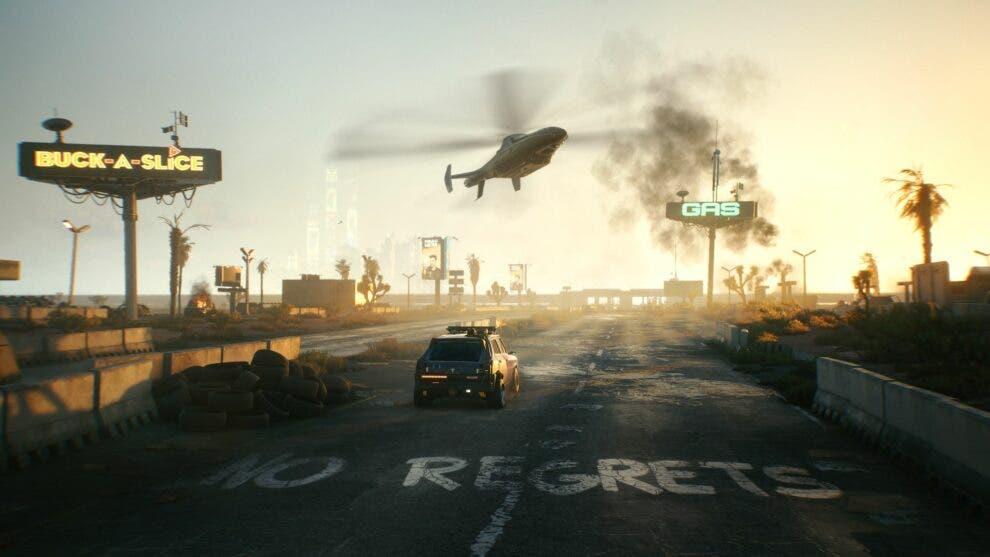 mundo de Cyberpunk 2077 se han visto afectadas por el calentamiento global