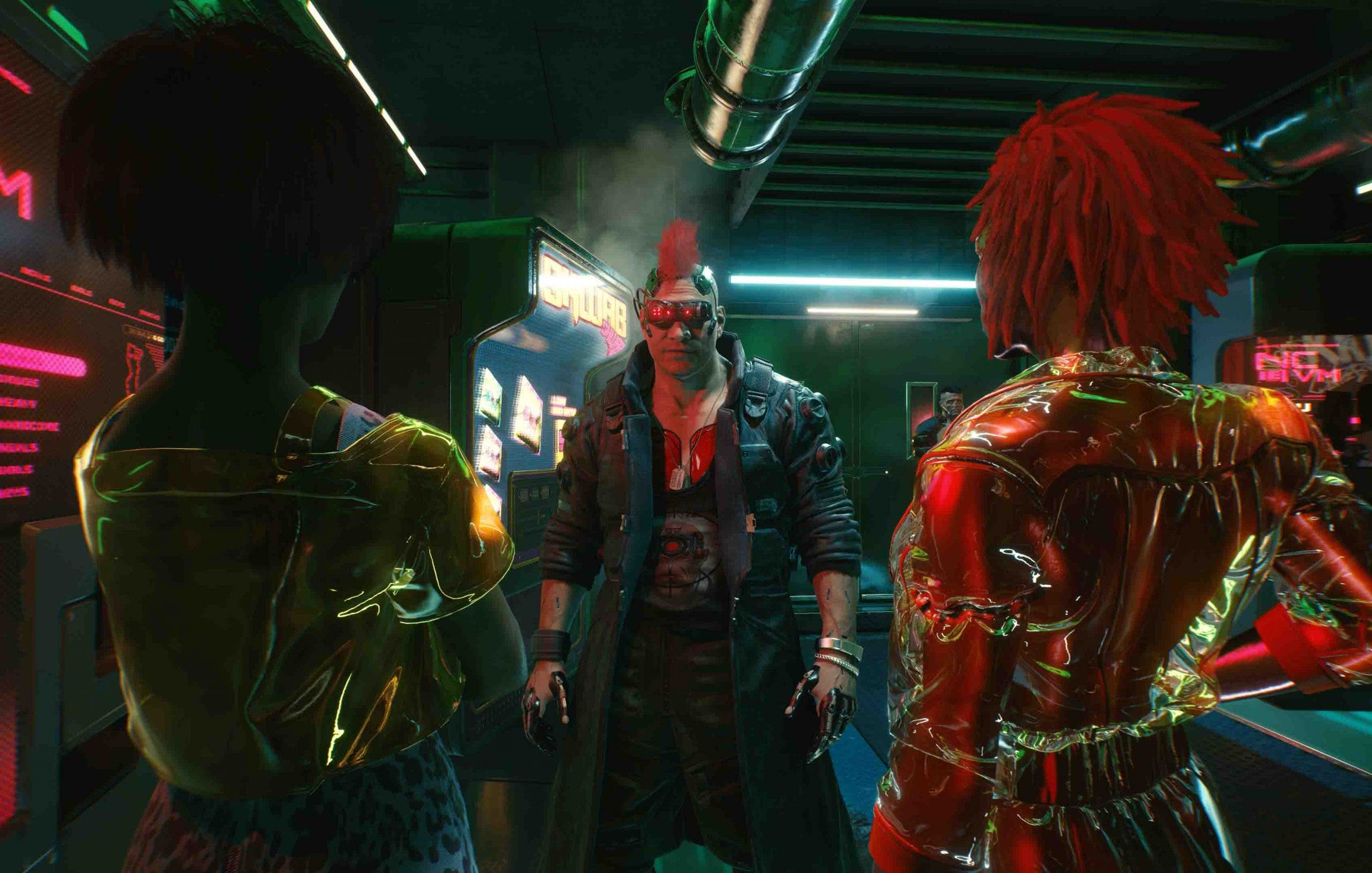 """Cyberpunk 2077 no quiere que los enemigos sean """"esponjas de balas"""": así lo combatirá 7"""