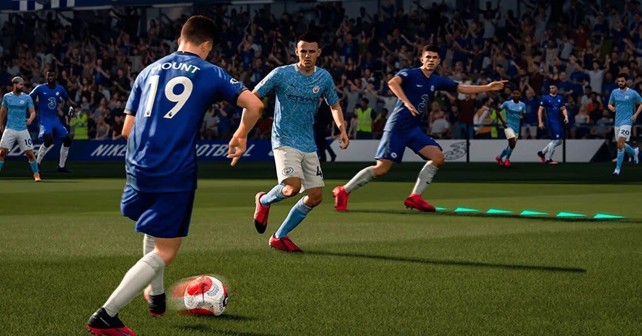 Así luce FIFA 21 en su primer gameplay