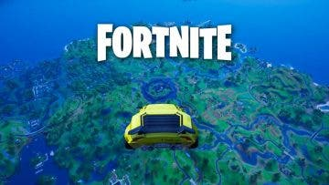 glitch nos permite volar con los nuevos coches de Fortnite