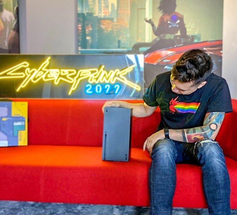 La cuenta de Cyberpunk 2077 defiende a Xbox Series X