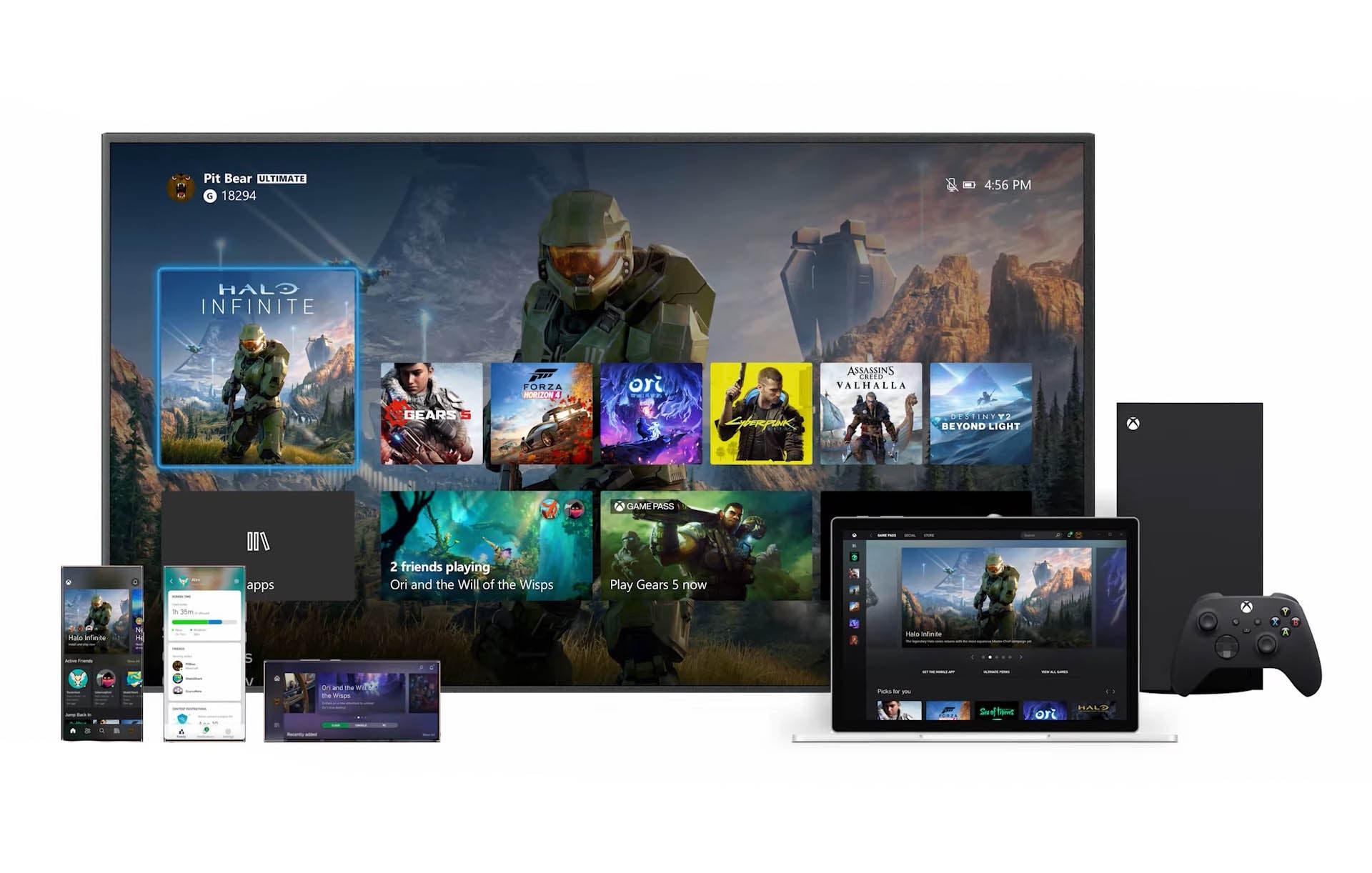 La resolución 1080p de la interfaz de Xbox Series X no es definitiva y podría actualizarse en el futuro 1