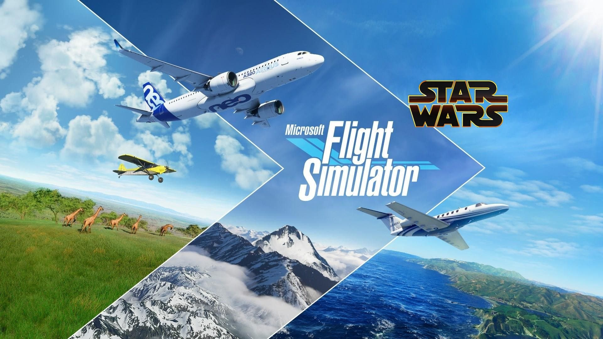 naves de Star Wars en Microsoft Flight Simulator