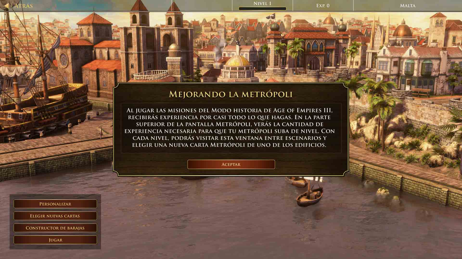 Avance de Age of Empires III: Definitive Edition