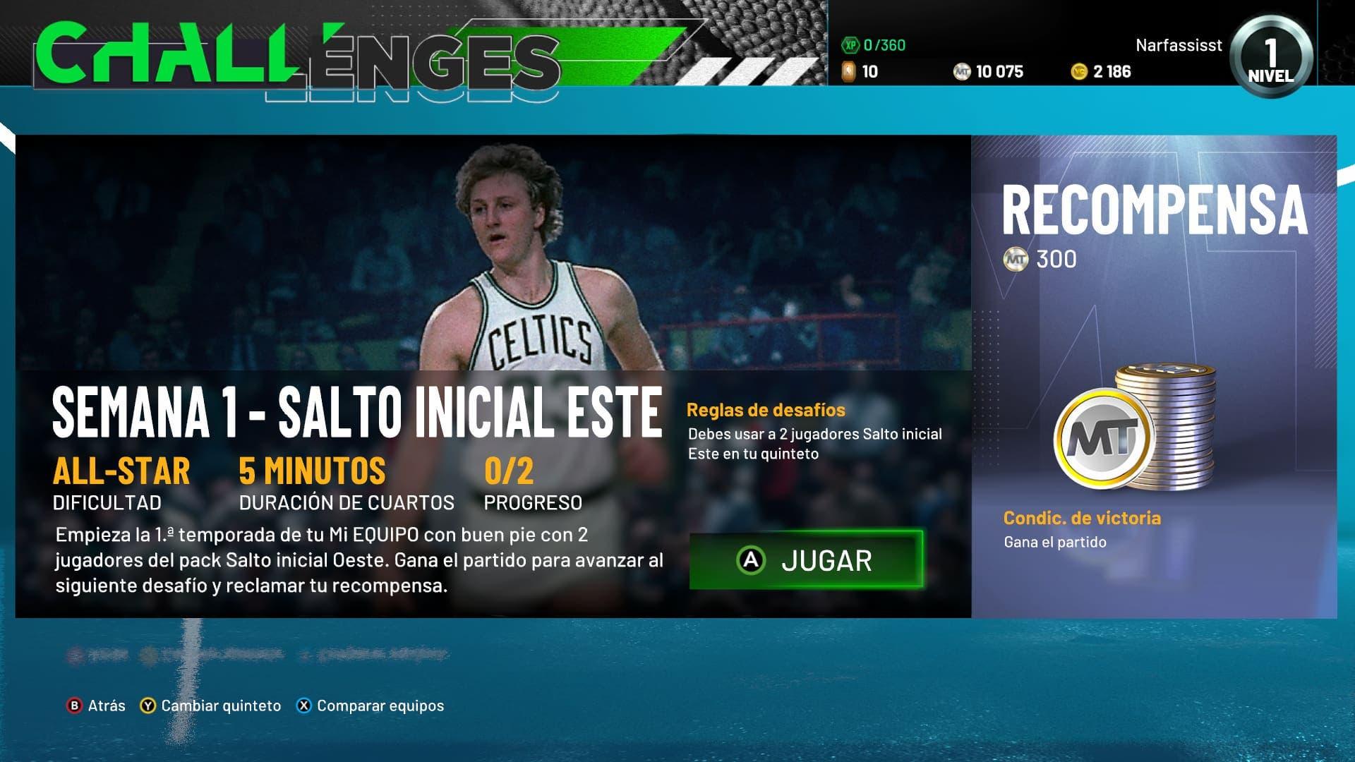 Análisis de NBA 2K21 - Xbox One 6