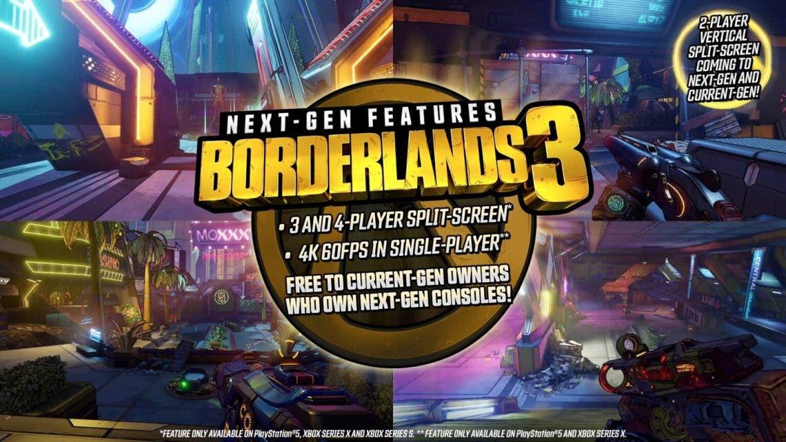 Borderlands 3 llegará a Xbox Series X y S