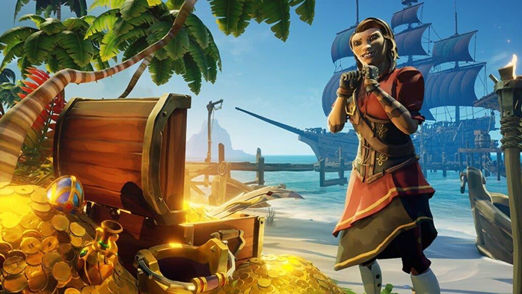 Sea of Thieves añade un skin de barco inspirado en Borderlands