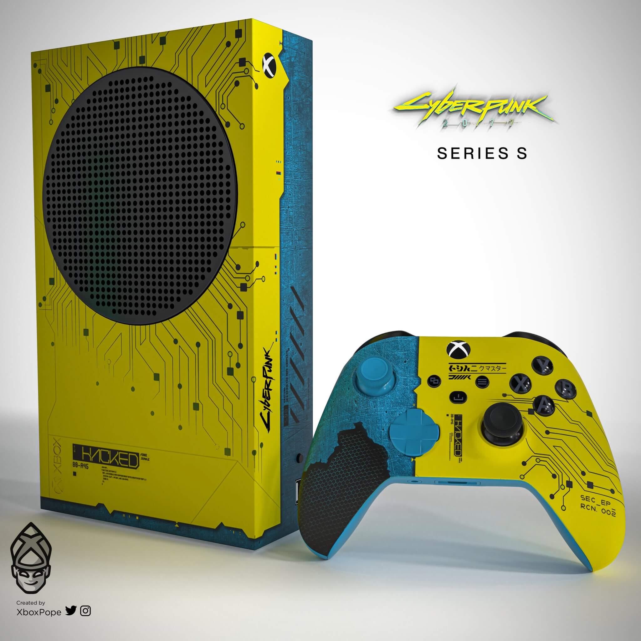 Xbox Series S de Cyberpunk 2077
