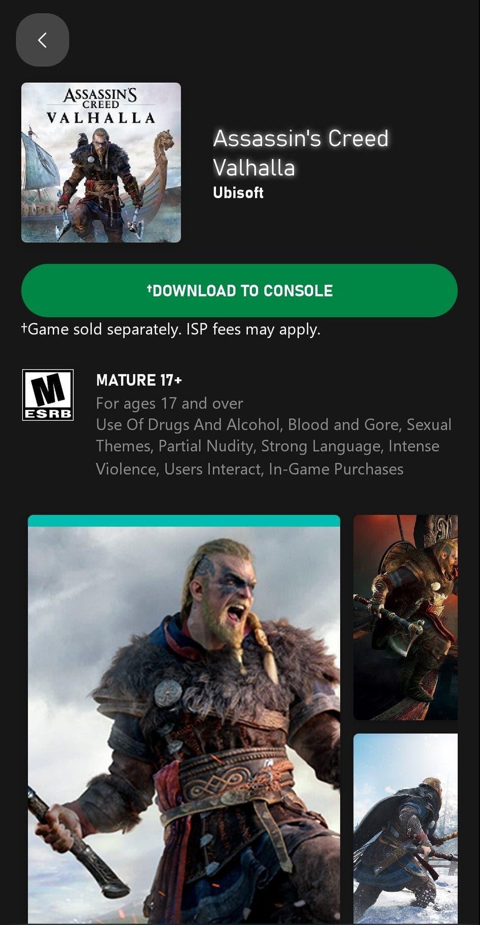 Una nueva función de Xbox permite descargar los juegos aunque no los hayas comprado
