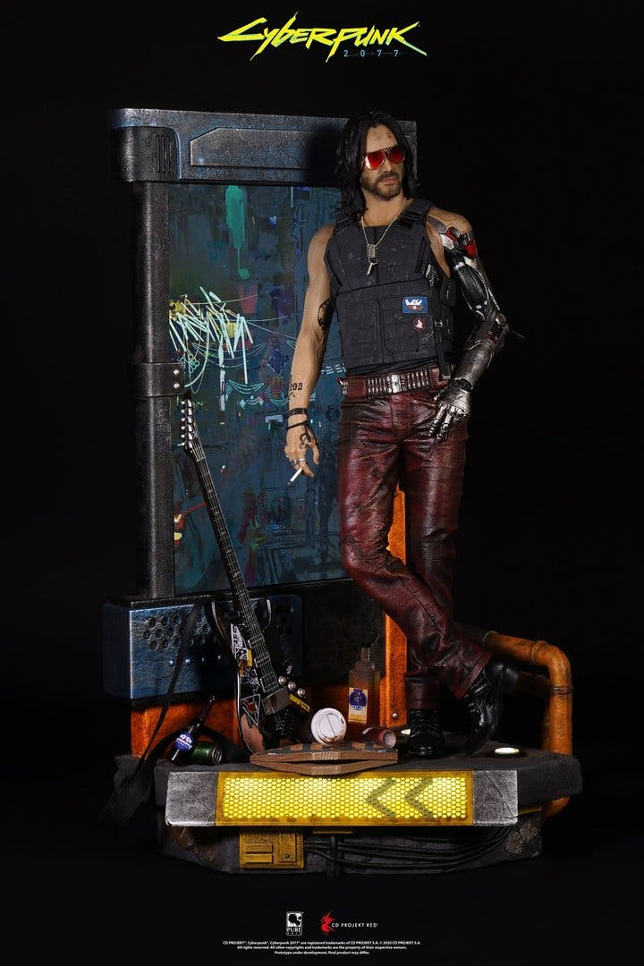 figura de Johnny Silverhand de Cyberpunk 2077
