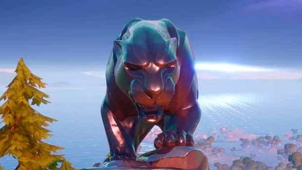 Fortnite rinde homenaje al actor de Black Panther ubicando una estatua en el mapa 1