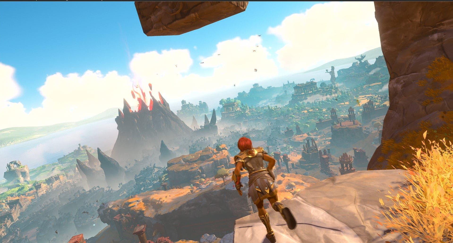 Un extenso gameplay de Immortals Fenyx Rising expone la Isla Dorada 9