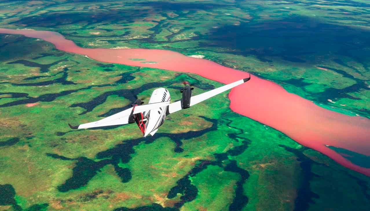 Naturaleza salvaje, así luce el continente africano en Microsoft Flight Simulator 2