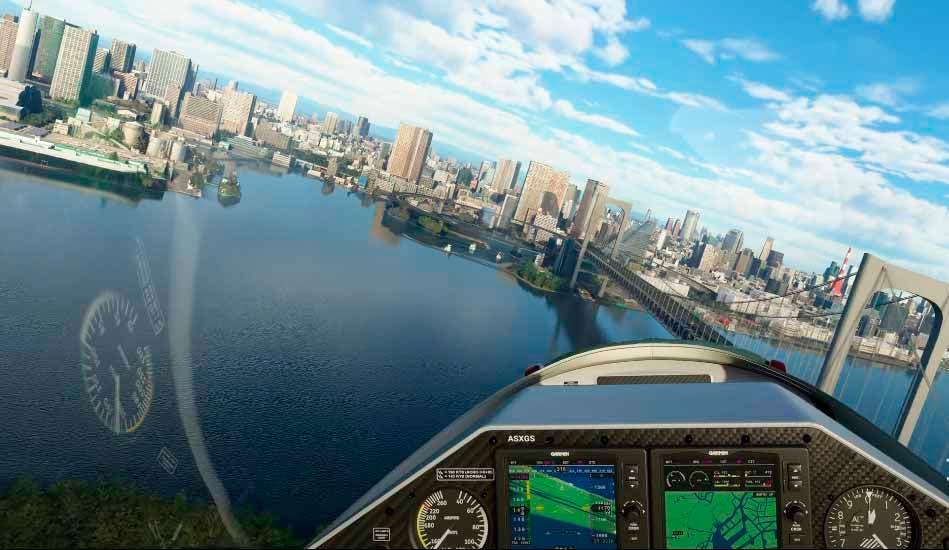 Microsoft Flight Simulator aprovecha la Tokyo Game Show 2020 para presentar su próxima actualización 4