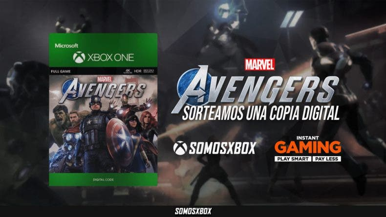 Sorteamos un código de Marvel's Avengers para Xbox One 1