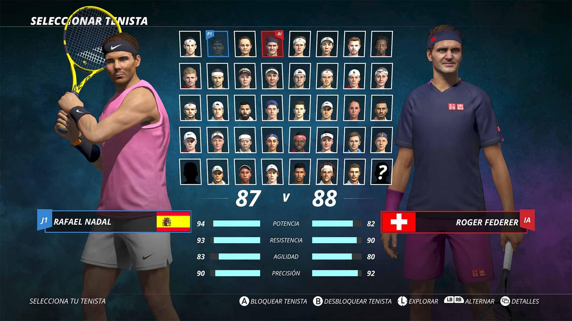 Análisis de World Tennis Tour 2 - Xbox One 9
