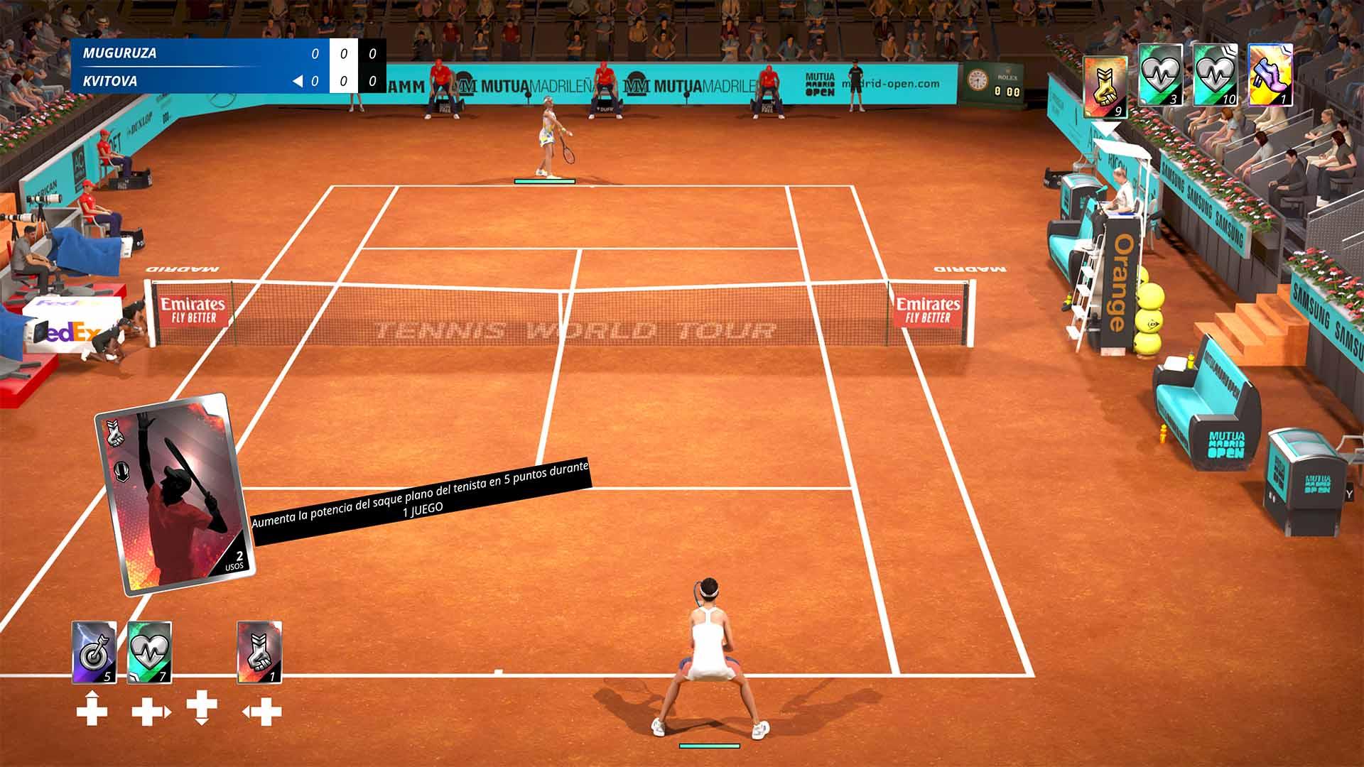 Análisis de World Tennis Tour 2 - Xbox One 8