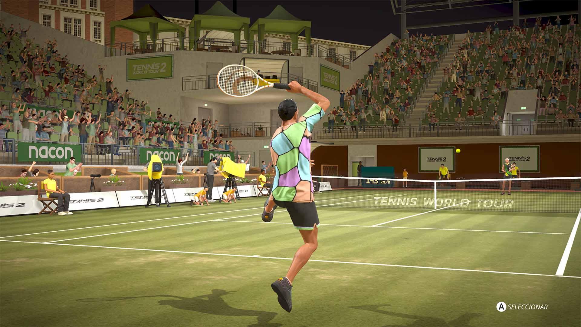 Análisis de World Tennis Tour 2 - Xbox One 2