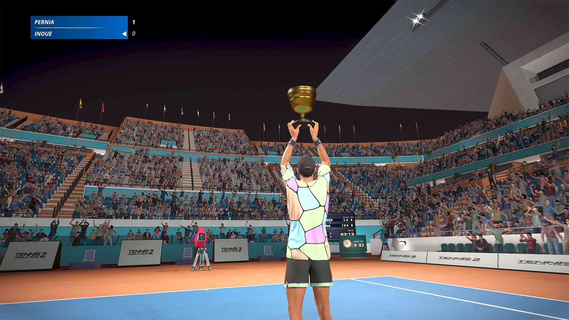Tennis World Tour 2 también recibirá mejoras para Xbox Series X|S, pero en una edición especial 2