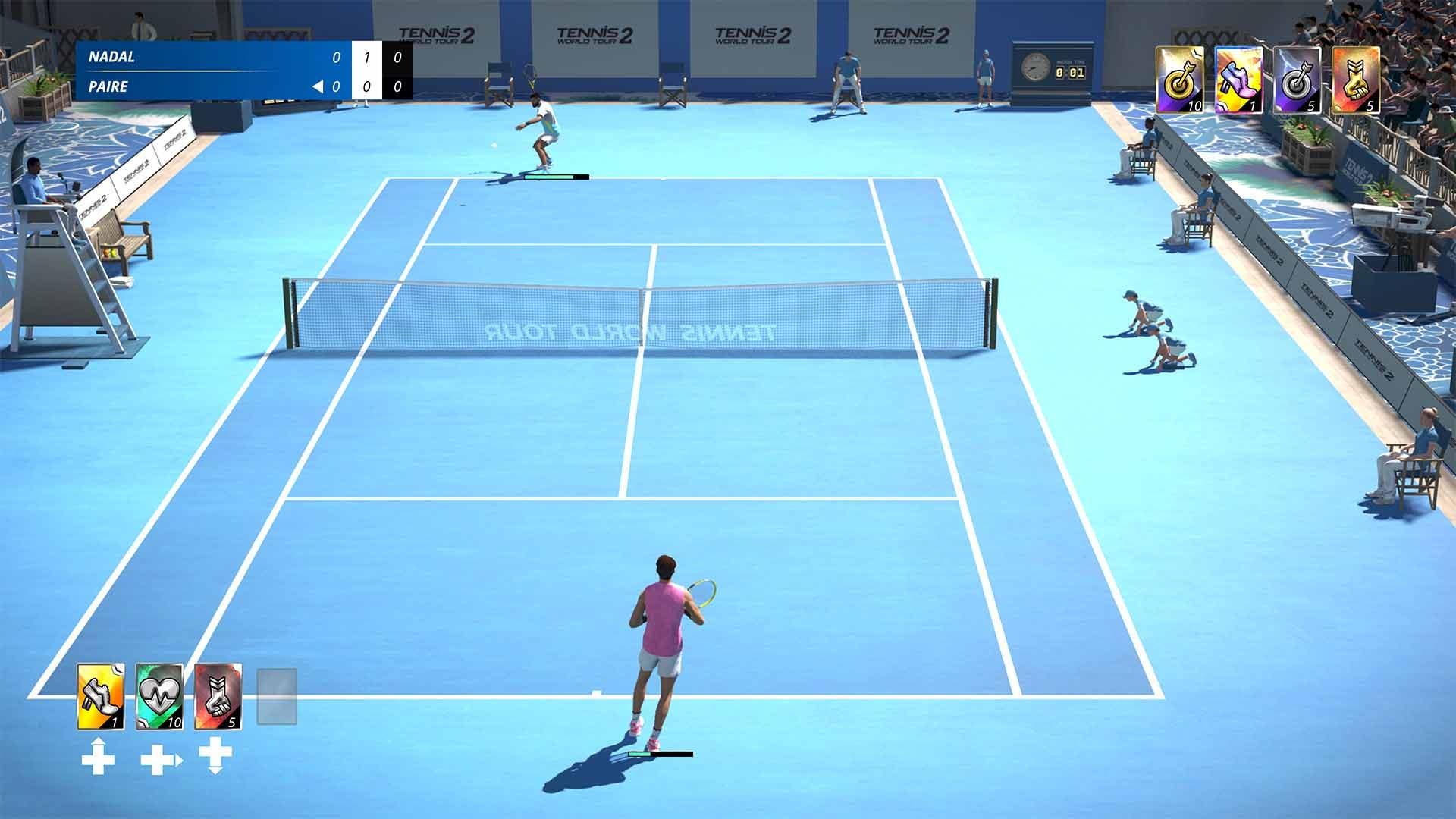 Análisis de World Tennis Tour 2 - Xbox One 10